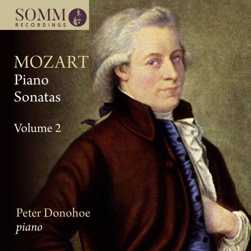 Review of MOZART Piano Sonatas Vol 2 (Peter Donohoe)