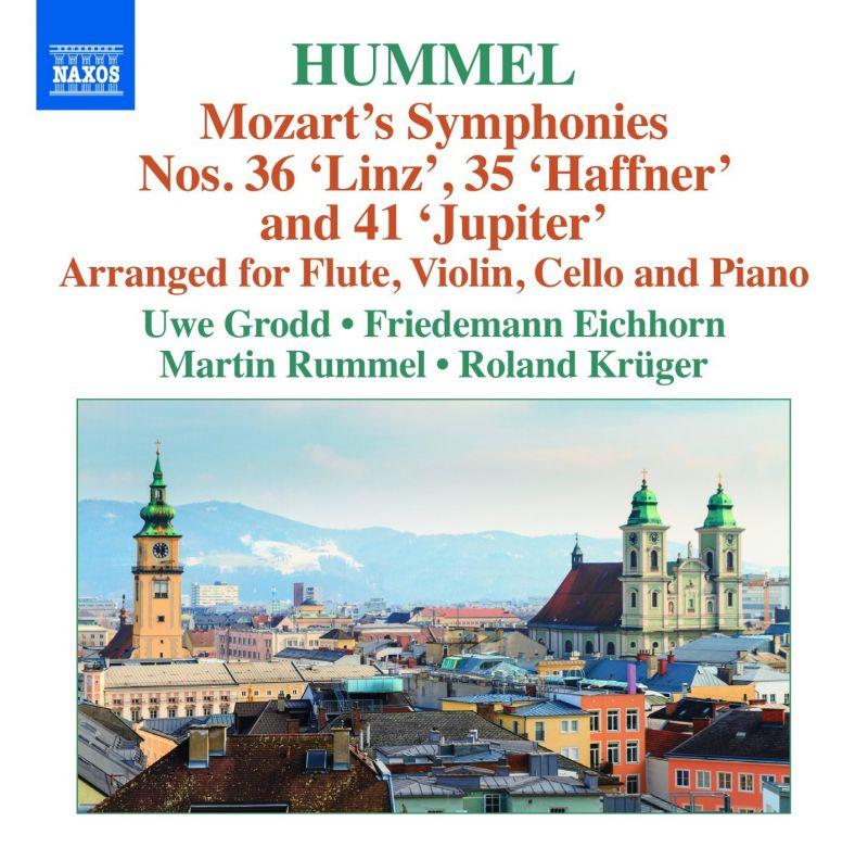 8 572842. MOZART Symphonies Nos 35, 36 & 41 arr. Hummel