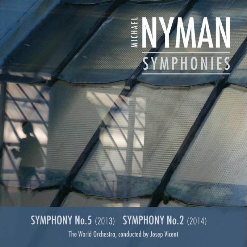 MNRCD134. NYMAN Symphonies Nos 2 & 5