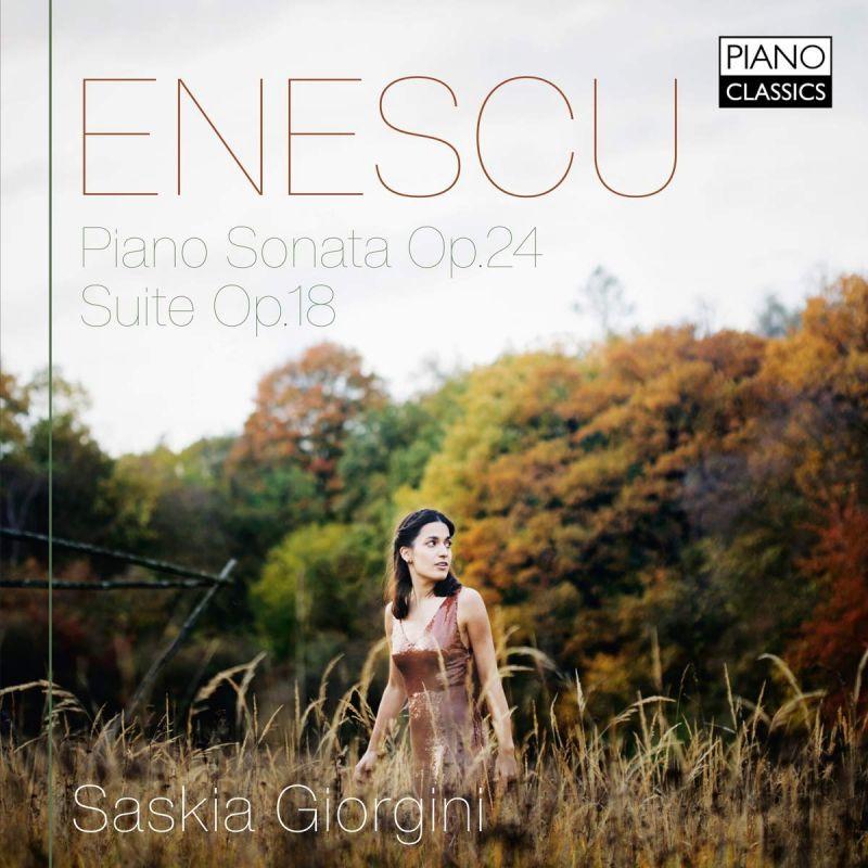 PCL10184. ENESCU Piano Sonata No 3. Suite Op 18 (Saskia Giorgini)