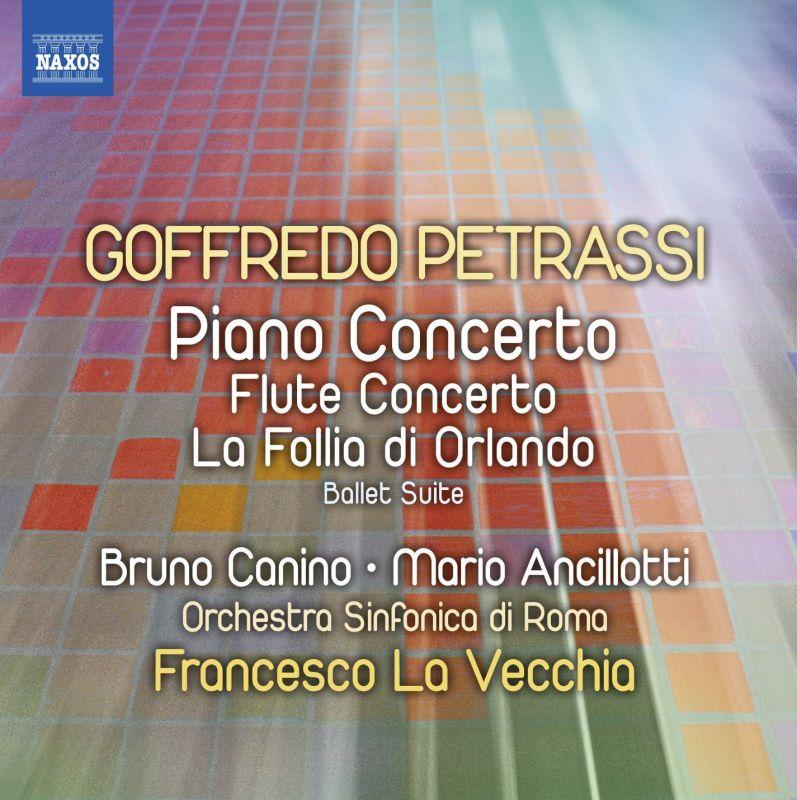 8 573073. PETRASSI Flute Concerto. Piano Concerto. Symphonic Suite