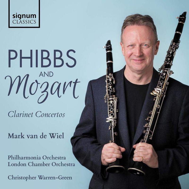 Review of MOZART; PHIBBS Clarinet Concertos (van de Wiel)