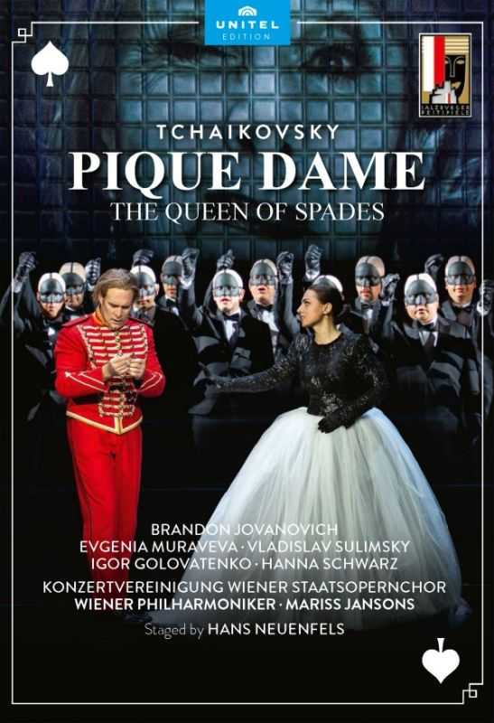 801408. TCHAIKOVSKY The Queen of Spades (Jansons)