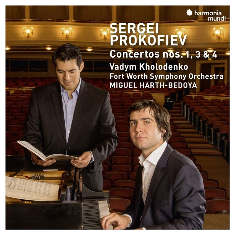 Review of PROKOFIEV Piano Concertos Nos 1, 3 & 4 (Kholodenko)