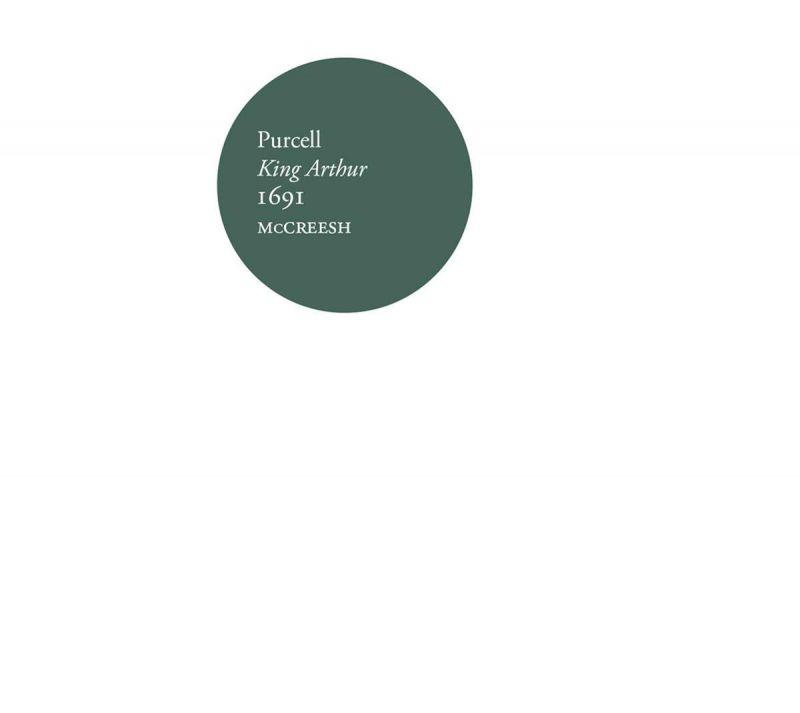 SIGCD589. PURCELL King Arthur (McCreesh)