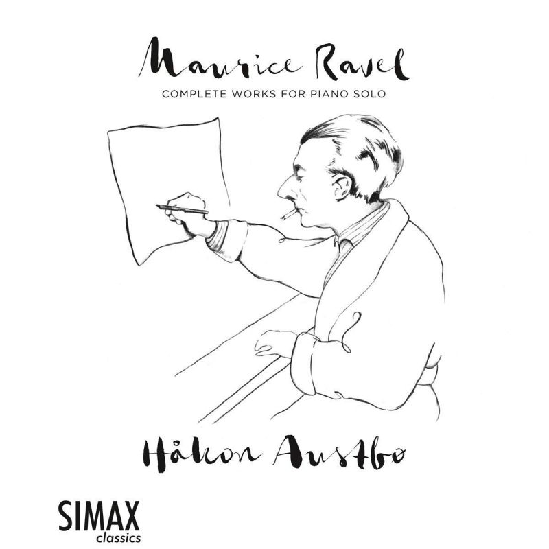 PSC1366. RAVEL Complete Works for Solo Piano (Håkon Austbø)
