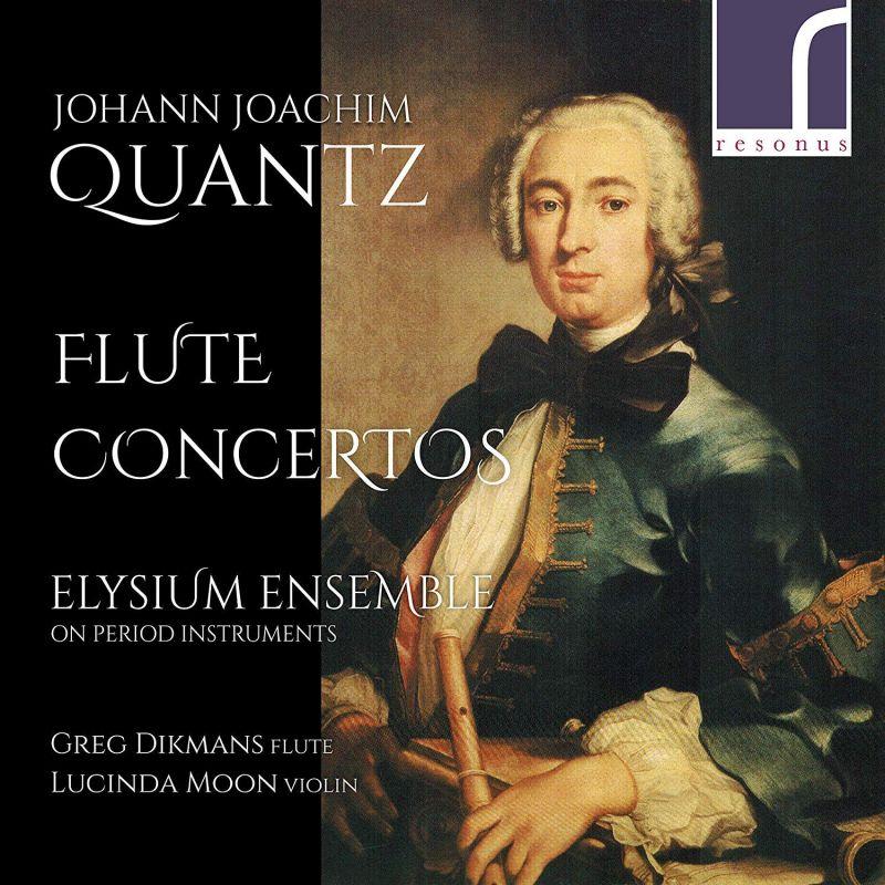 Review of QUANTZ Flute Concertos (Greg Dikmans)