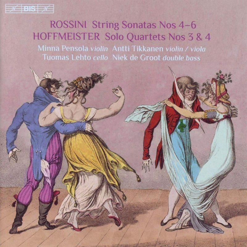 Review of HOFFMEISTER Solo Quartets Nos 3 & 4