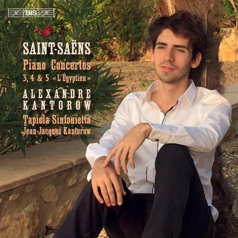 Review of SAINT-SAËNS Piano Concertos Nos 3 & 5 (Lortie)