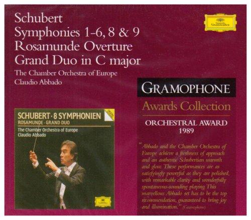 SCHUBERT Complete Symphonies – Abbado