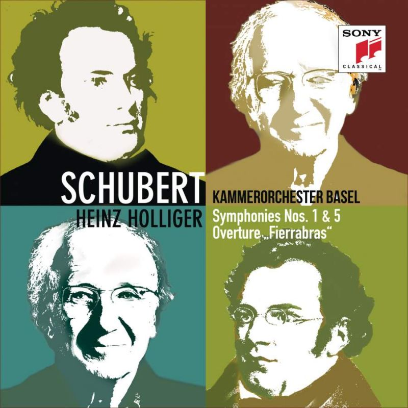 19075 81440-2. SCHUBERT Symphonies Nos 1 & 5 (Holliger)