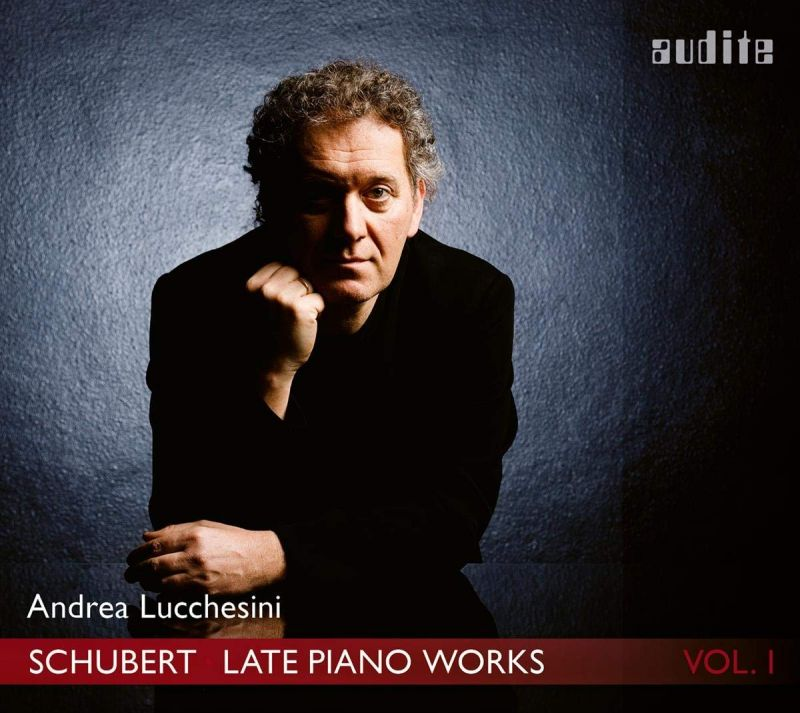 AUDITE97 765. SCHUBERT Late Piano Works Vol 1 (Andrea Lucchesini)