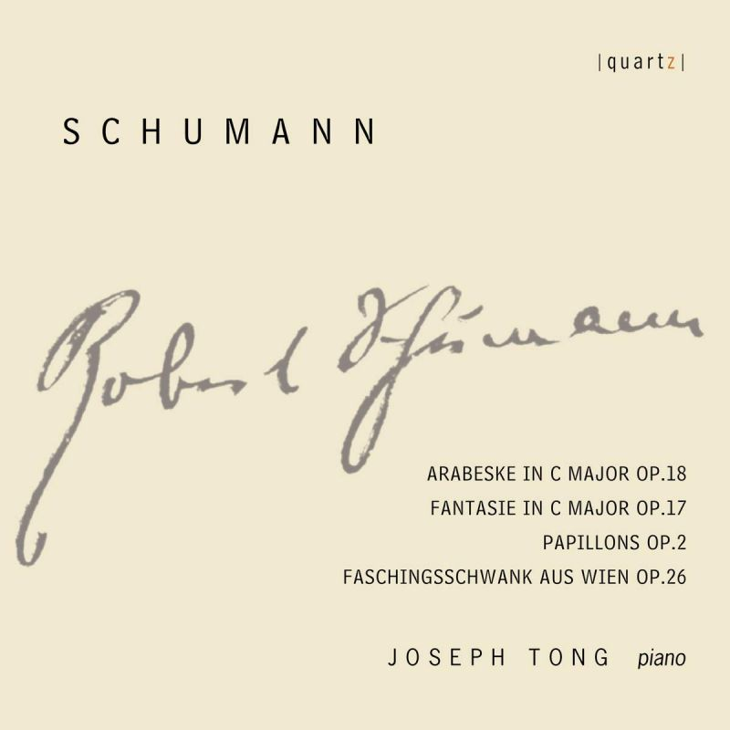 Review of SCHUMANN Works for Piano (Joseph Tong)