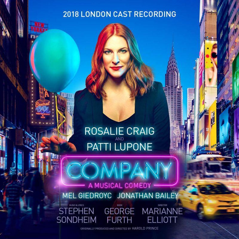 9362 49009-7. SONDHEIM Company (2018 London cast)