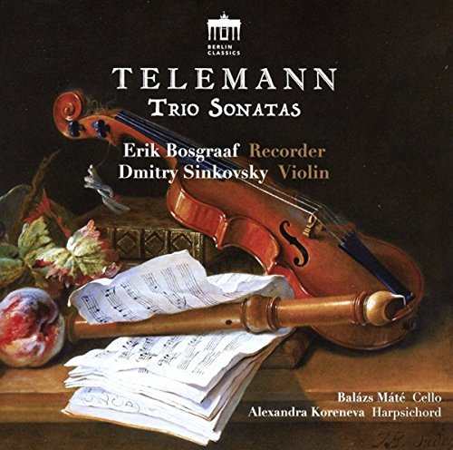 0301006BC. TELEMANN Trio Sonatas for Recorder