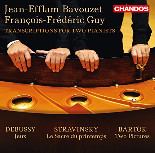 CHAN10863. Transcriptions for Two Pianists