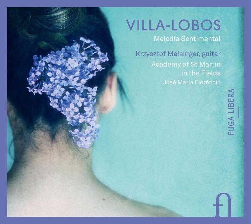 FUG599. VILLA-LOBOS Guitar Concerto. 5 Preludes for guitar. José-Maria Florëncio