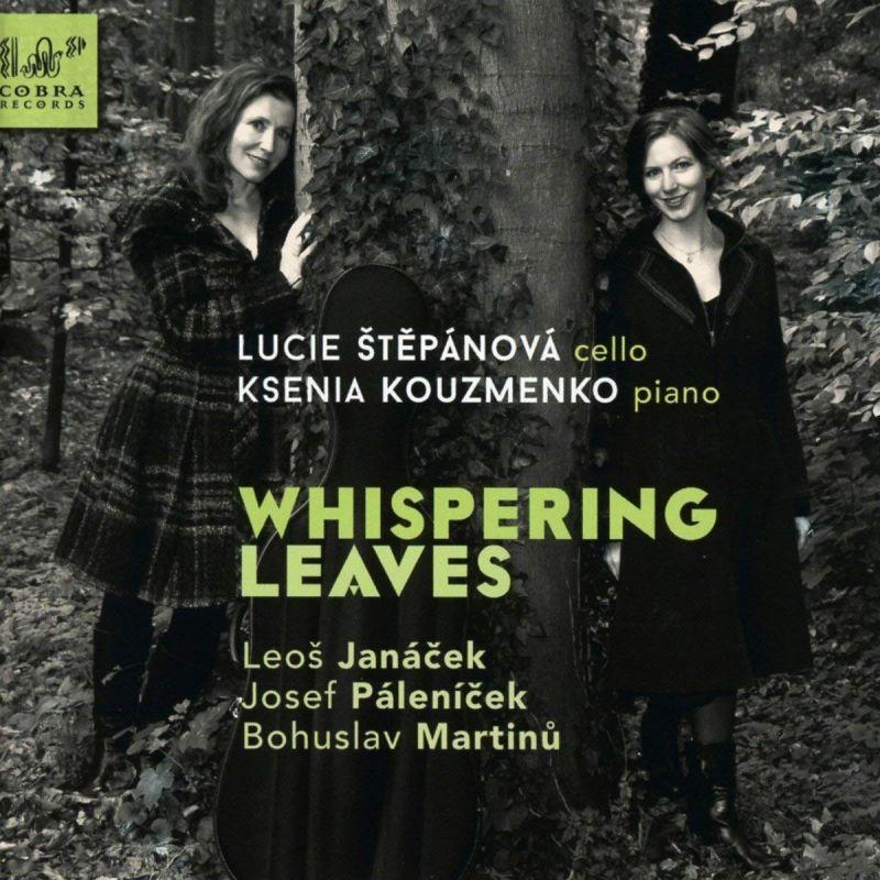 """COBRA0069. JANÁCEK; MARTINU; PÁLENÍCEK """"Whispering Leaves"""""""
