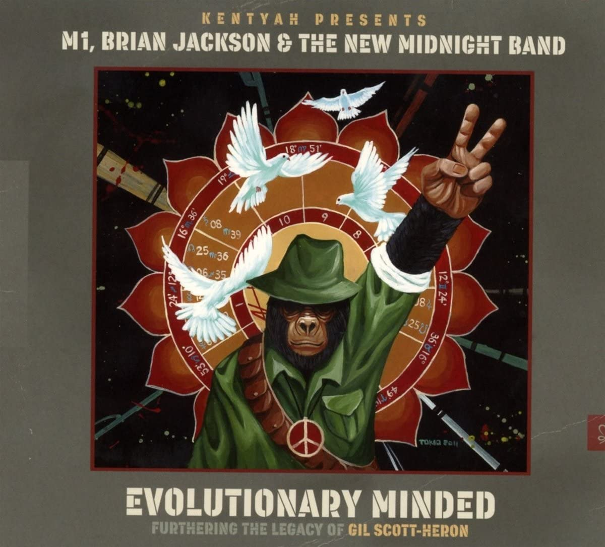 Review of Kentyah Presents M1, Brian Jackson: Evolutionary Minded: Furthering The Legacy Of Gil Scott-Heron